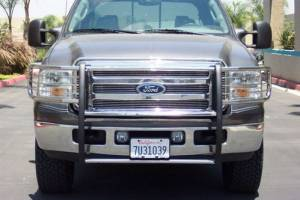B Exterior Accessories - Grille Guards - Steelcraft - Steelcraft 51370 Black Grille Guard Ford F250/F350 Super Duty (2011-2013)