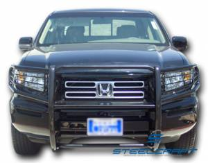 Black - Honda - Steelcraft - Steelcraft 55070 Black Grille Guard Honda Ridgeline (2006-2008)