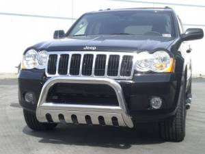 """Steelcraft 72320 3"""" Bull Bar for (2011 - 2011) Jeep Grand Cherokee in Stainless Steel"""