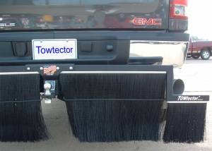 "Mud Flaps for Trucks - Towtector Brush System - Towtector - Towtector 17818-DM Premium Towtector Chevy Duramax 78"" x 18"" Height"
