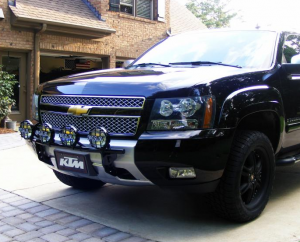 B Exterior Accessories - Light Bars - N-Fab - N-Fab C063LB Light Bar Chevy Tahoe/Suburban/Avalanche 2006-2010