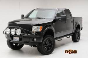Truck Bumpers - N-Fab - N-Fab F99350LH Pre-Runner Light Bar Ford F250/F350/Super Duty/Excursion 1999-2007