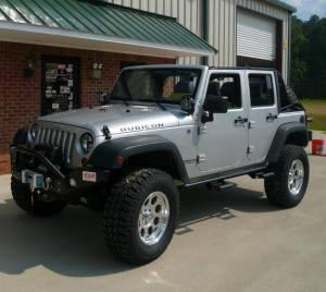 Exterior Accessories - Rock Sliders - N-Fab - N Fab J074RKR Rock Rail for (2007-2013) Jeep Wrangler 4 Door JK