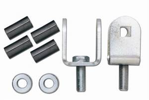 Suspension Parts - Sway Bar Links - Rubicon Express - Rubicon Express RE1172 Disconnect Adapters Jeep TJ/Jeep ZJ 1996 and Up