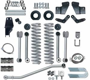 "Lift Kits - Rubicon Express Lift Kits - Rubicon Express - Rubicon Express RE6500 5.5"" Extreme-Duty Kit with Rear SOA Jeep MJ 1984-2001"