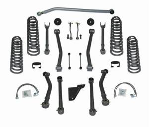 "Lift Kits - Rubicon Express Lift Kits - Rubicon Express - Rubicon Express RE7143 3.5"" Super-Flex Kit 4 Door Jeep JK 2007-2012"