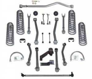"Lift Kits - Rubicon Express Lift Kits - Rubicon Express - Rubicon Express RE7144 4.5"" Super-Flex Kit 4 Door Jeep JK 2007-2012"