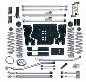 "Lift Kits - Rubicon Express Lift Kits - Rubicon Express - Rubicon Express RE7225 Long Arm Kit 5.5"" Jeep LJ Unlimited 2004-2006"