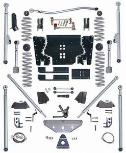 "Lift Kits - Rubicon Express Lift Kits - Rubicon Express - Rubicon Express RE7505 Extreme-Duty Long Arm with Tri-Link 5.5"" Jeep TJ 1997-2002"