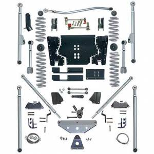"Lift Kits - Rubicon Express Lift Kits - Rubicon Express - Rubicon Express RE7524 Long Arm Kit with Tri Link 4.5"" Jeep LJ Unlimited 2004-2006"