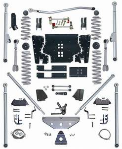 "Lift Kits - Rubicon Express Lift Kits - Rubicon Express - Rubicon Express RE7525 Long Arm Kit with Tri Link 5.5"" Jeep LJ Unlimited 2004-2006"