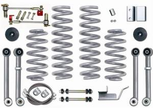 "Lift Kits - Rubicon Express Lift Kits - Rubicon Express - Rubicon Express RE8003 3.5"" Super-Flex Kit Jeep ZJ 1993-1998"