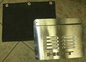 Towtector - Towtector 19920 Heat Shield Kit Stainless Steel and Fabric Heat Shield