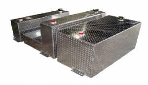 Exterior Accessories - Fuel Tanks and Pumps - Aluminum Tank Industries - ATI TTL80-B L-Shaped Refueling Tank