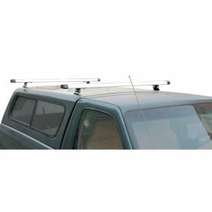 Vantech Racks - Pickup Toppers & Cap Racks - Vantech - Vantech J1024W Rack System White Aluminum 59 Inch Width Pickup Toppers & Caps Universal