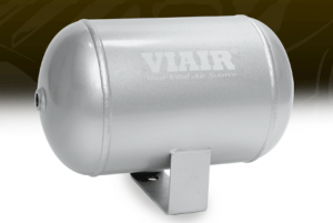 "Viair Air Kits - Air Reservoir - Viair - Viair 91014 1.0 Gallon Tank | Four 1/4"" NPT Ports 150 PSI Rated"