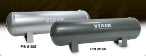 "Viair Air Kits - Air Reservoir - Viair - Viair 91025 2.5 Gallon Air Tank | Six 1/4"" NPT Ports 150 PSI Rated"