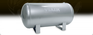 "Viair Air Kits - Air Reservoir - Viair - Viair 91050 5.0 Gallon Air Tank | Two 1/4"" NPT Ports & Two 3/8"" NPT Ports 150 PSI Rated"