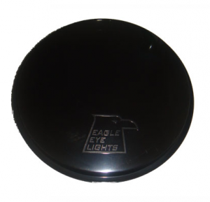 "Eagle Eye Lighting | HID and Non HID Lights - Non HID Lighting - Eagle Eye Lights - Eagle Eye Lights CV-505BK Solid Black Covers for 4"" Internal Ballast H.I.D. Lights HID505 and Non-HID 4"" Lights HG505 Each"