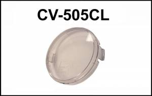 "Eagle Eye Lights - Eagle Eye Lights CV-505CL Clear Cover for 4"" Internal Ballast HID HID505 & Non-HID 4"" Lights HG505 Each"
