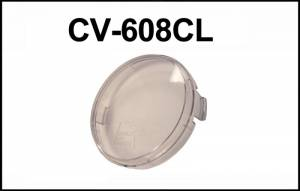 "Eagle Eye Lights - Eagle Eye Lights CV-608CL Clear Cover for 6"" Internal Ballast HID HID608 & Non-HID 6"" Lights HG608 Each"