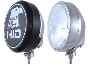 "Bumper Fog Lights - Eagle Eye Lights - Eagle Eye Lights HID906D 9"" 35W HID Fog Lamp - Driving - Single"