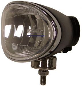 "Eagle Eye Lighting | HID and Non HID Lights - HID External Lights - Eagle Eye Lights - Eagle Eye Lights HID965DB50W 8"" Aluminum DieCast Black 50W External Ballast HID Driving Clear Oval HID Off Road Light with ABS Cover Each"