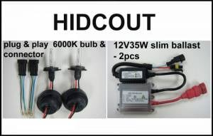Eagle Eye Lighting | HID and Non HID Lights - ATV HID Conversion Kits - Eagle Eye Lights - Eagle Eye Lights HIDCOUT 2006-2012 Can Am Outlander 35W HID Kit