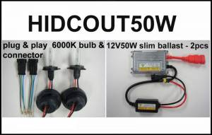 Eagle Eye Lighting | HID and Non HID Lights - ATV HID Conversion Kits - Eagle Eye Lights - Eagle Eye Lights HIDCOUT50W 2006-2012 Can Am Outlander 50W HID Upgrade Kit