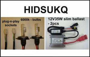 Eagle Eye Lighting | HID and Non HID Lights - ATV HID Conversion Kits - Eagle Eye Lights - Eagle Eye Lights HIDSUKQ 2007-2012 Suzuki King Quad 35W HID Kit