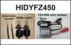 Eagle Eye Lighting | HID and Non HID Lights - ATV HID Conversion Kits - Eagle Eye Lights - Eagle Eye Lights HIDYFZ450 2004-2012 Yamaha YFZ450 35W HID Needs Stator Upgrade Kit