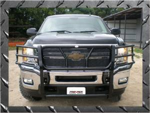 Frontier Gear Grille Guards - Chevy - Frontier Gear - Frontier Gear 200-20-3007 Grille Guard Chevy 1500/1500HD/Avalanche (WBH)/2500  (2003-2006)