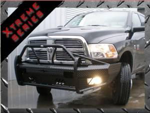 Dodge Ram 2500/3500 - Dodge RAM 2500/3500 2010-2016 - Frontier Gear - Frontier Gear 600-41-0005 Xtreme Front Bumper Dodge 2500/3500 2010-2014