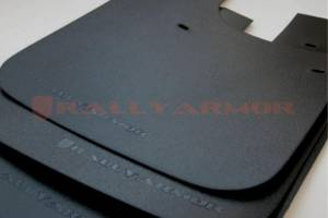 "Exterior Accessories - Mud Flaps - Rally Armor - Rally Armor MF12-BAS-BLK Basic Universal Mud Flap 12"" W x 15"" H"