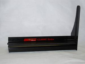 "Owens Running Boards - Chevy/GMC - Owens - Owens OC70100FXB Classic Pro Series Extruded Aluminum 2"" Drop Black 1997-2012 Chevy/GMC Vans Express/Savana 135"" WB without Cladding"