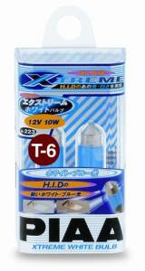 PIAA - PIAA 19223 T-6 Miniature Dome Light 10W Xtreme White Twin Pack