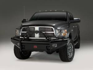Fab Fours Black Steel - Dodge RAM 2500/3500 2003-2005 - Fab Fours - Fab Fours DR03-S1062-1 Black Steel Front Bumper Pre Runner Dodge 2500/3500 2003-2005