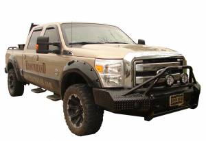 Ranch Hand Bumpers - Ford F250/F350 2011-2014 - Ranch Hand - Ranch Hand BTF115BLR Sport Winch Front Bumper Bullnose Ford F250/F350/F450/F550 Super Duty 2011-2016