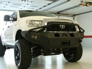 Fab Fours Premium - Front Winch Bumper with Pre-Runner Bar - Toyota