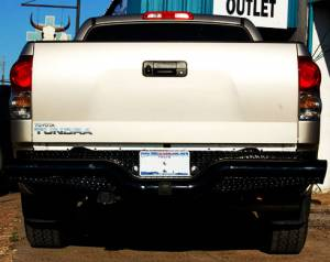 Tough Country - Deluxe Rear Bumper - Toyota