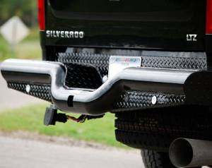 Tough Country - Deluxe Rear Bumper - GMC
