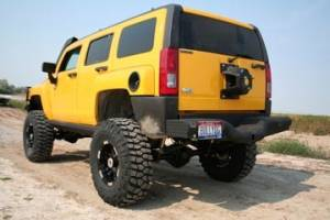 Tough Country - Deluxe Rear Bumper - Hummer
