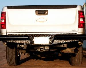 Tough Country - Traditional Rear Bumper - Chevy