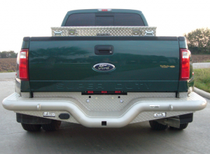 Tough Country - Deluxe Rear Dually Bumper - GMC