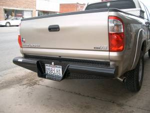 Tough Country - Traditional Rear Bumper - Toyota