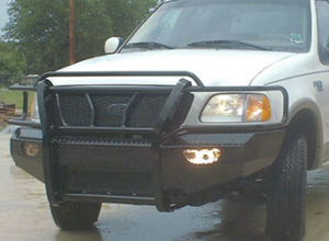 Ford F150 Bumpers - Ford F150 2004-2008 - Frontier Gear - Frontier 300-10-4005 Front Bumper Ford F150 2004-2005