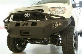 Bumpers - Fab Fours Front Bumper with Pre-Runner Grille Guard - Toyota