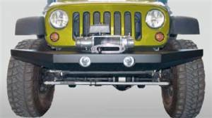 Bumpers - Jeep Bumpers - Rock Slide Engineering - Rock Slide Engineering - Rock Slide FB-F-300-JK Rock Crawler Front Bumper Jeep Wrangler JK 2007-2017