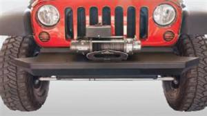 Jeep Bumper - Rock Slide Engineering - Rock Slide FB-S-200-JK Rock Crawler Shorty Front Bumper Jeep Wrangler JK 2007-2016