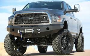 Truck Bumpers - Iron Cross - Winch Front Bumper